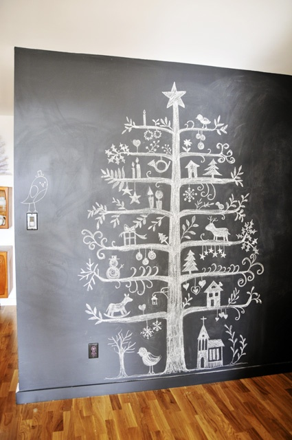 chalkboard-tree