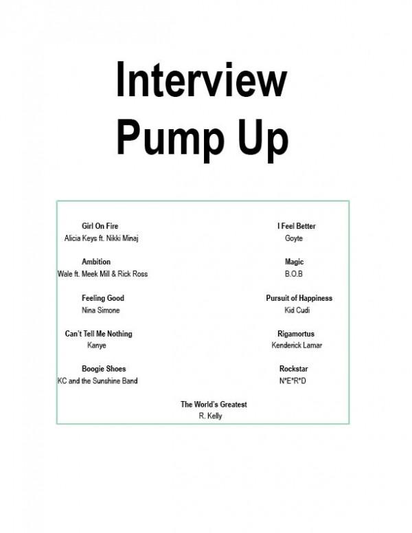 Interview Playlist