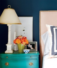 Colorful nightstand